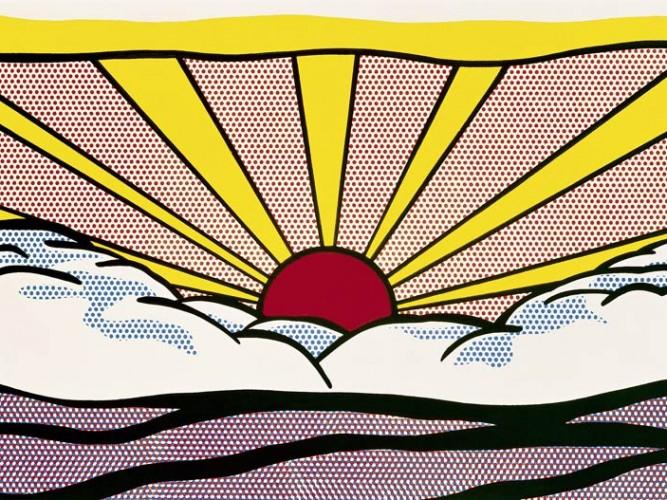 Roy Lichtenstein Gündoğumu