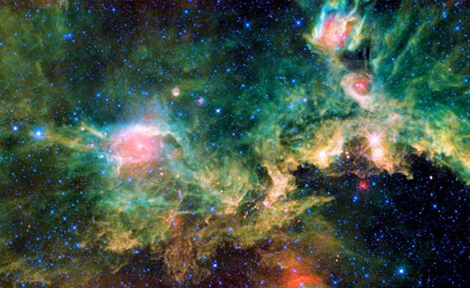 Seagull Nebulası
