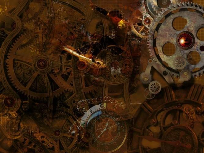 Steampunk Zaman Mekanizasyonu