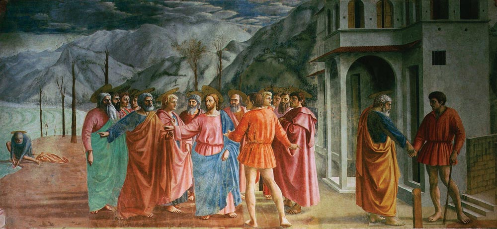 Resim 05, Masaccio, Vergi Parası, 1427