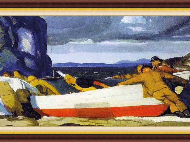 George Wesley Bellows hayatı ve eserleri