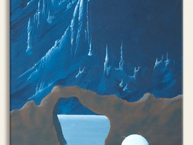 Peyami Gürel Beyaz inci tablosu