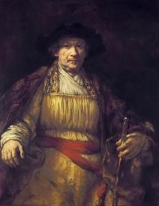 Resim 02, Rembrandt, Kendi Portresi, 1658
