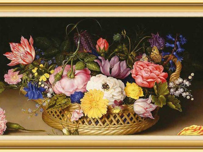 Ambrosius Bosschaert the Elder hayatı ve eserleri