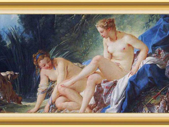 François Boucher hayatı ve eserleri