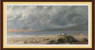 Gustave Courbet hayatı ve eserleri