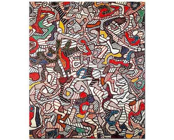 Jean Dubuffet Kompozisyon