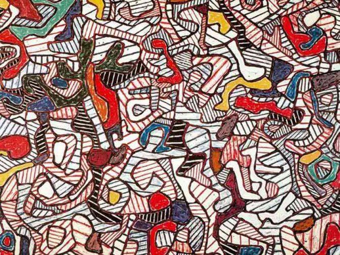 Jean Dubuffet Kompozisyon tablosu