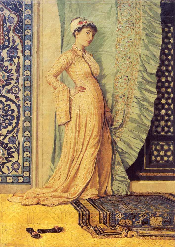 Osman Hamdi Ayakta Genç Kız