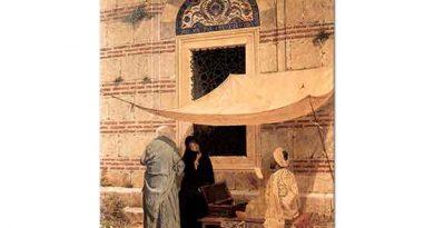 Osman Hamdi Cami Önünde Arzuhalci
