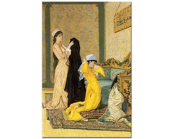 Osman Hamdi Çarşaflanan Kadınlar