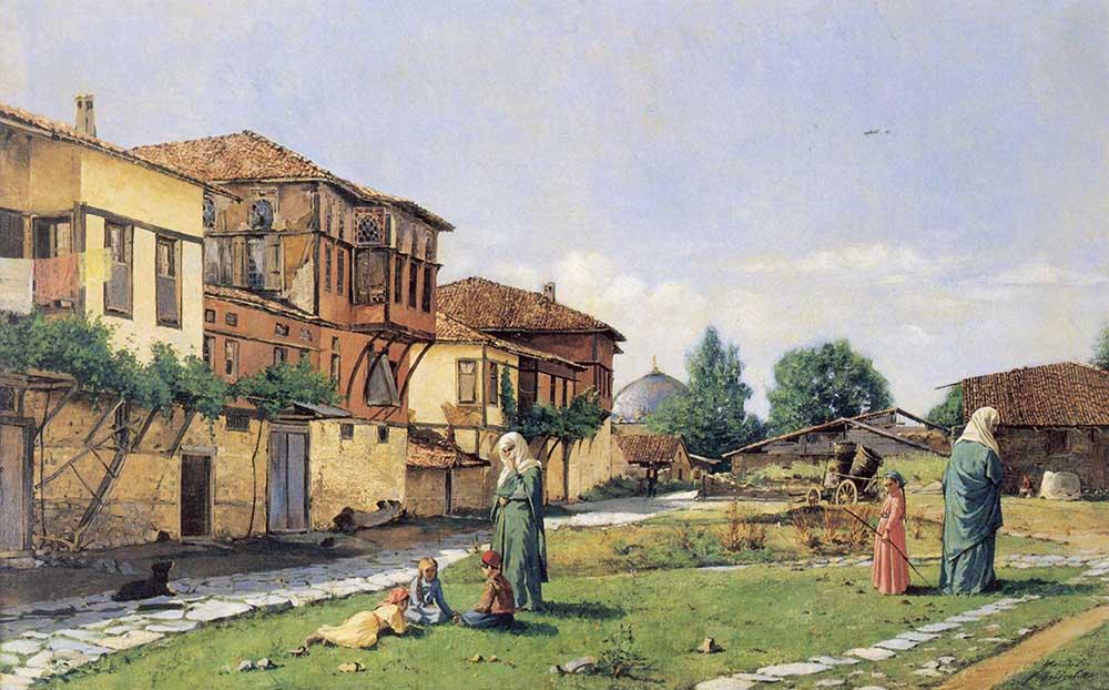 Osman Hamdi Gebze'den Manzara