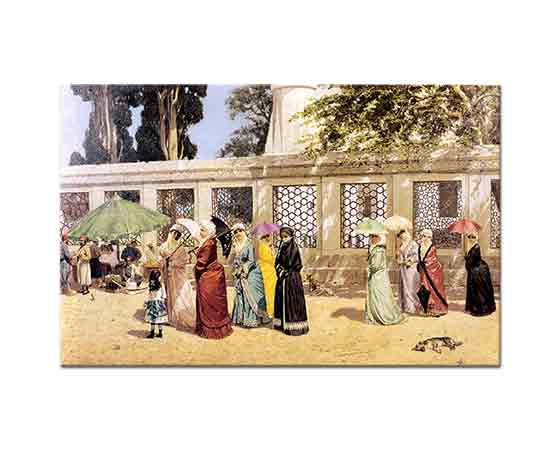 Osman Hamdi Bey Gezintide Kadınlar