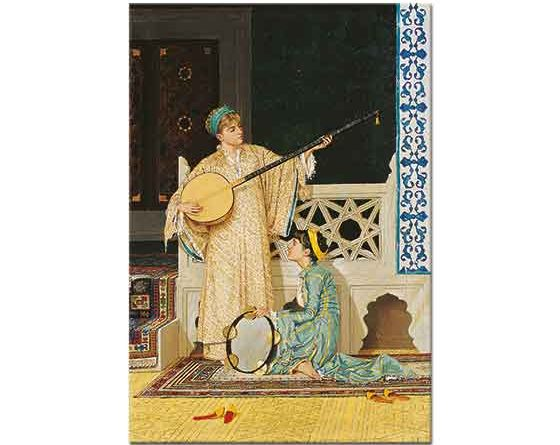 Osman Hamdi iki Müzisyen Kız