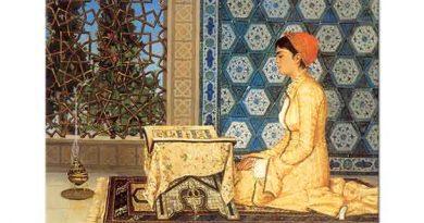 Osman Hamdi Kuran Okuyan Kız