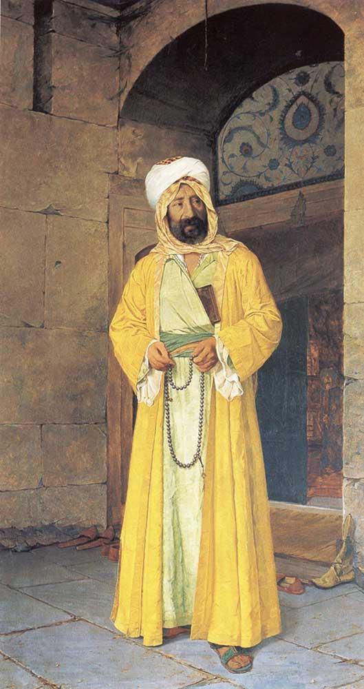 Osman Hamdi Rüstempaşa Camii Önünde