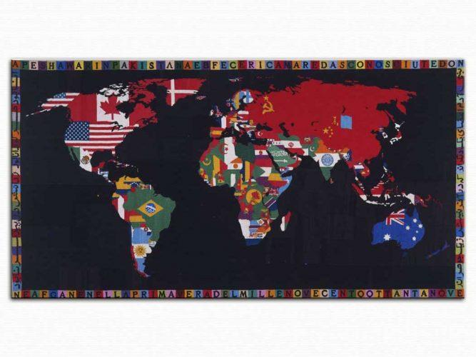 Alighiero e Boetti Dünya Haritası
