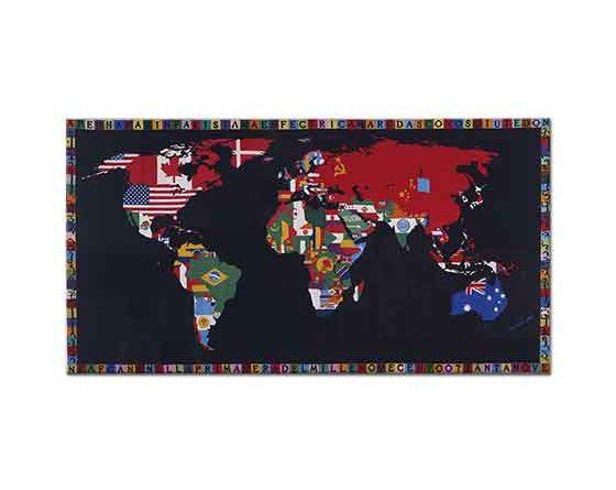 Alighiero Boetti Dünya Haritası