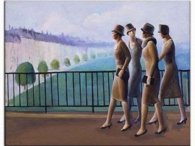 Guy Pene du Bois Paris'te Amerikalılar