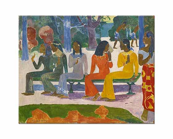 Paul Gauguin Alışveriş Günü