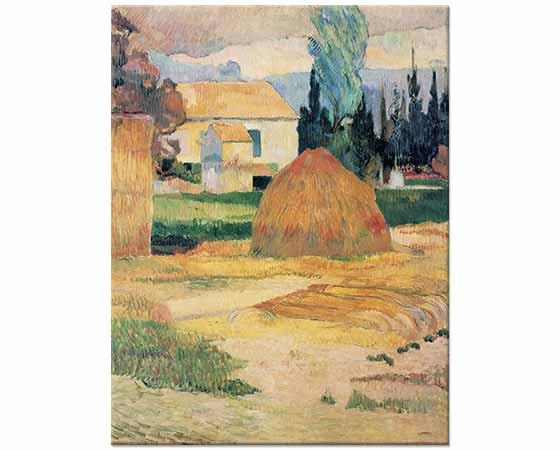 Paul Gauguin Arleste Manzara