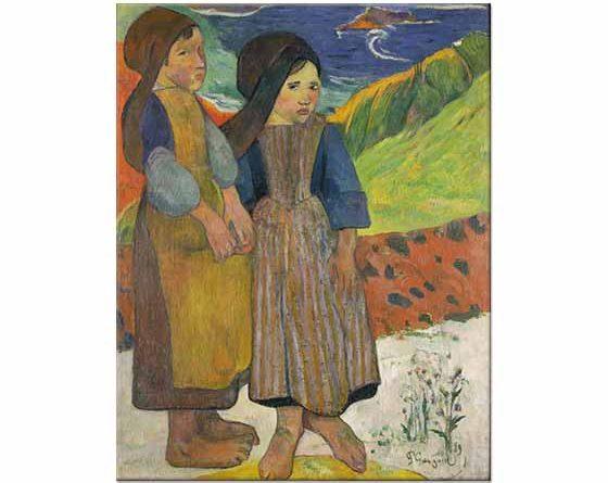 Paul Gauguin Bretonlu Kızlar