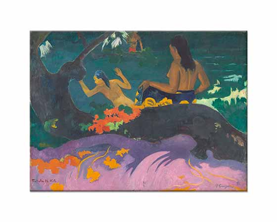 Paul Gauguin Fatata Te Miti Deniz Kenarında