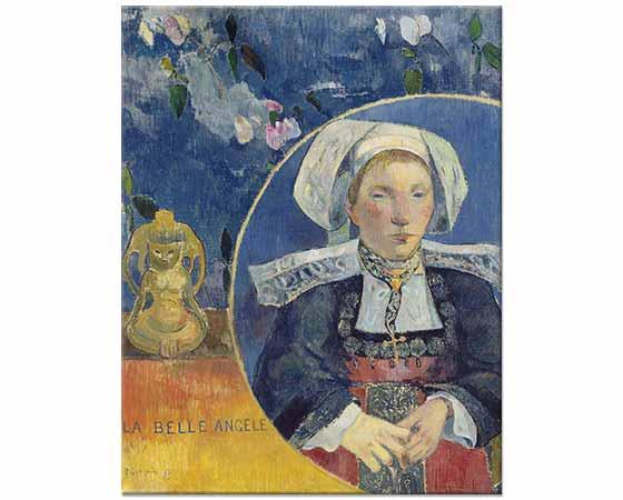 Paul Gauguin Güzel Angele