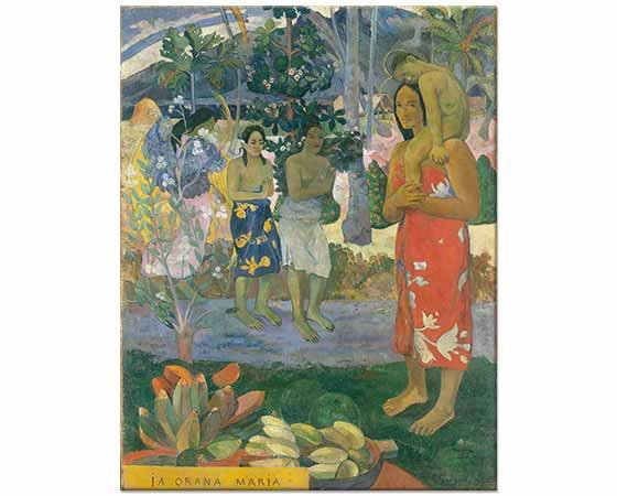 Paul Gauguin Ia Orana Maria