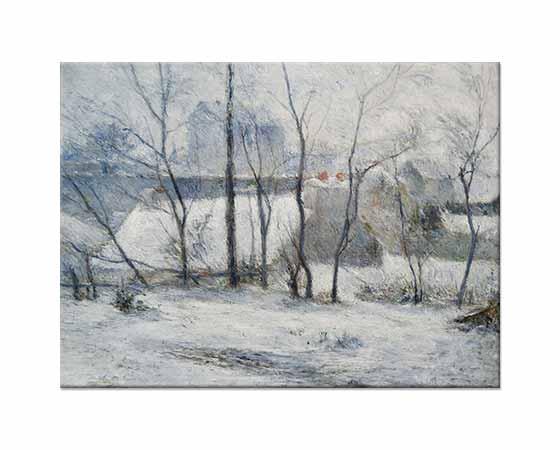 Paul Gauguin Kış Manzarası