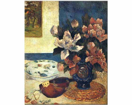 Paul Gauguin Mandolinli Natürmort