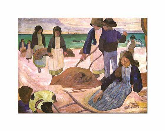 Paul Gauguin Sahil Temizliği