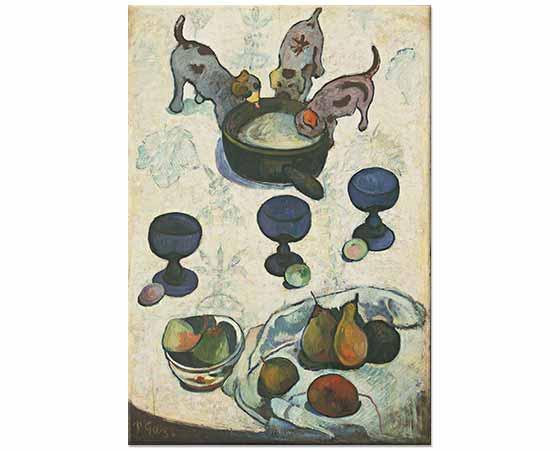 Paul Gauguin Üç Köpek Yavrusu