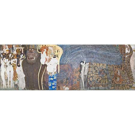 Gustav Klimt Beethoven Freskinden 1. Pano