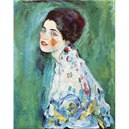 Gustav Klimt Bir Kadın Portresi