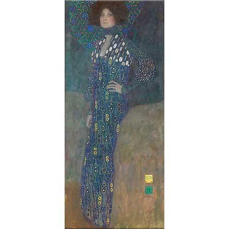 Gustav Klimt Emilie Flöge'nin Portresi