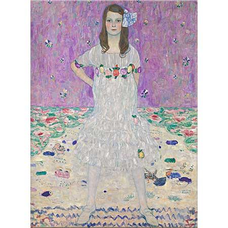 Gustav Klimt Eugenia Primavesi Portresi