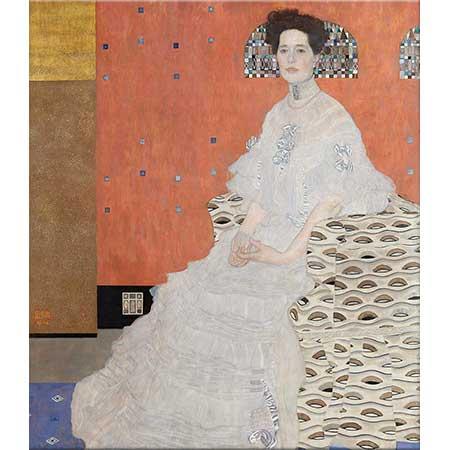Gustav Klimt Fritza Riedler Portresi