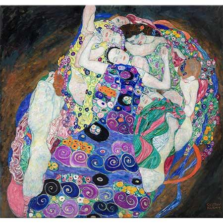 Gustav Klimt Genç Kızlar (Bakireler)