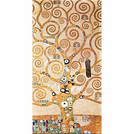 Gustav Klimt Hayat Ağacı Orta Panel