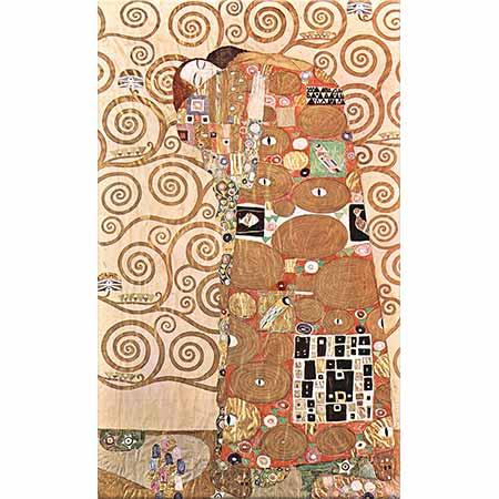 Gustav Klimt Hayat Ağacı Sarılış