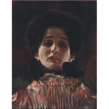 Gustav Klimt Kadın Portresi