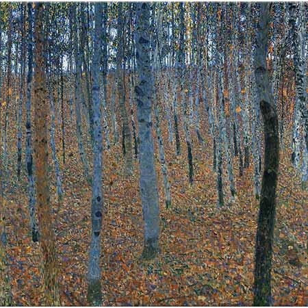 Gustav Klimt Kayın Ormanı