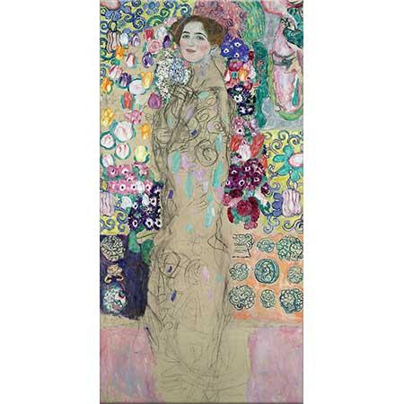 Gustav Klimt Maria Munk Portresi