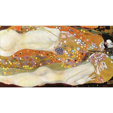 Gustav Klimt Su Yılanları