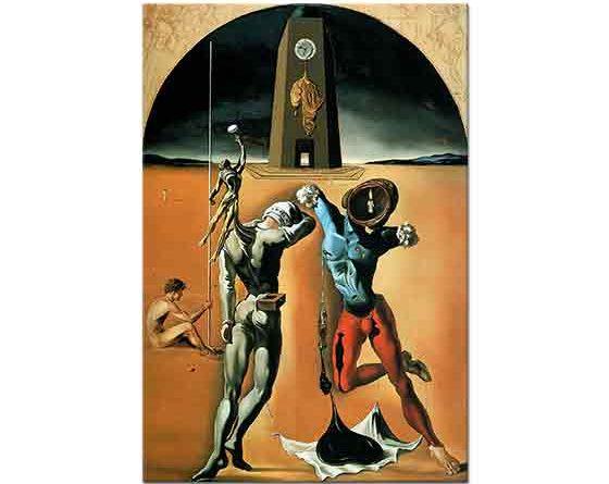 Salvador Dali Amerikan Şiiri ( Kozmik Atletler)