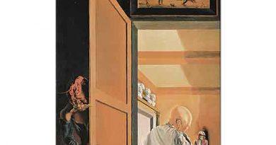 Salvador Dali Gala ve Millet'in Angelus'u Anamorphic Koninin Gelişinden Hemen Önce