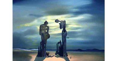 Salvador Dali Millet'in Angelus'unun Arkeolojik Anısı