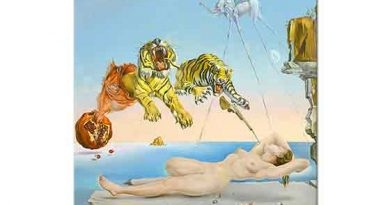 Salvador Dali Narın Etrafında Uçan Arı ile ilgili Rüya