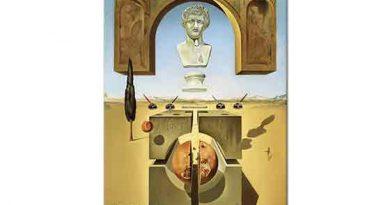 Salvador Dali Neron'un Burnunun Dibinde Maddenin Çözünmesi